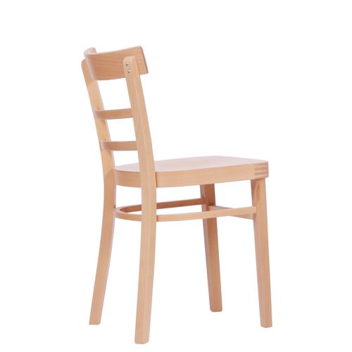 Drevené ohýbané stoličky drevený sedák