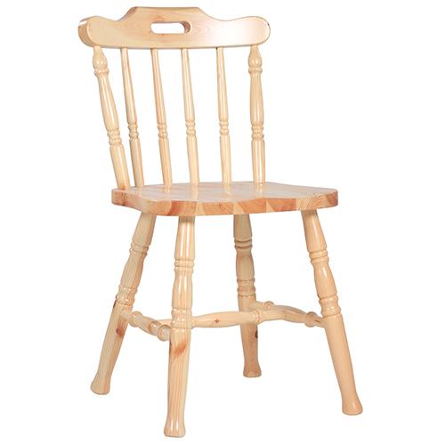 Drevené stoličky vidiecký štýl