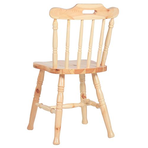 Dřevěné židle venkovský styl