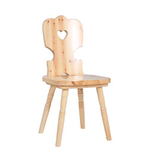 Dřevěné židle masivní borovice