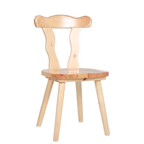 Selské dřevěné židle LINUS ve venkovském stylu