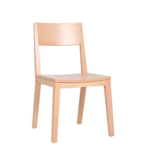 Dřevěné židl edo restaurace
