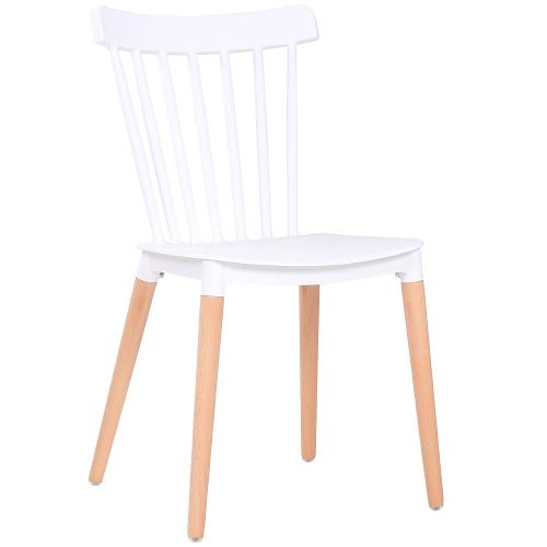 Bistro židle plastový sedák