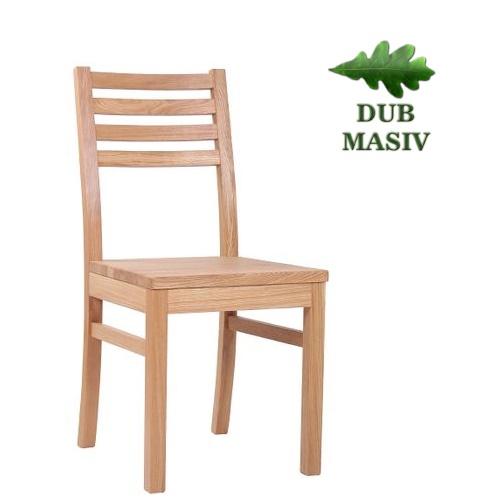 Dřevěné restaurační židle masivní dub