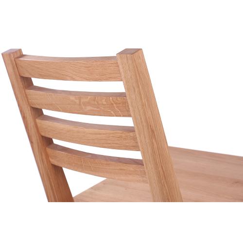 Dřevěné židle do restaurace dubové masivní