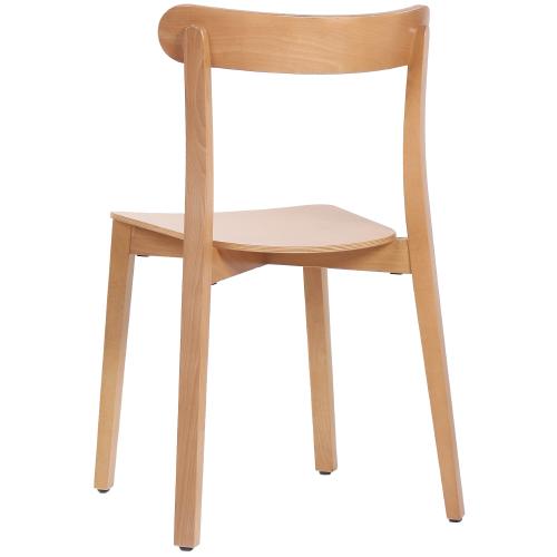 Drevené reštauračná bistro stoličky