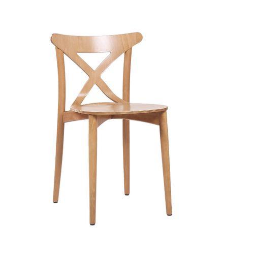Dřevěné bistro židle XAVER