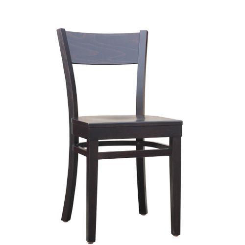 Dřevěné židle ohýbané do restaurace