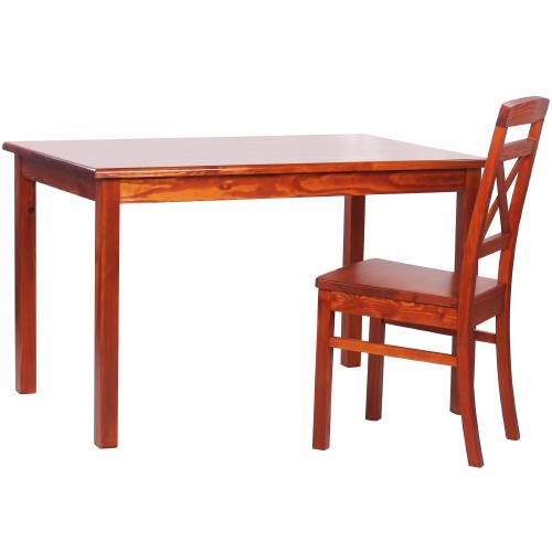 Borovicové židle a stoly masiv
