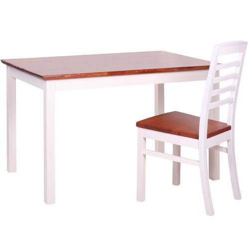 Židle a sztoly borovice masiv