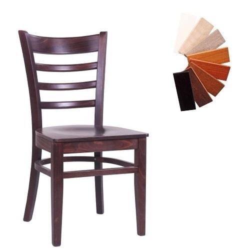 Dřevěné židle do restaurace WILMA S MC více barev