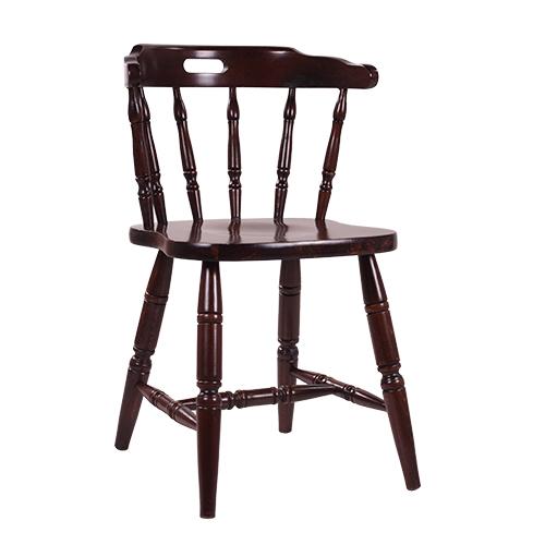 Drevené westernové stoličky
