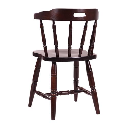 Dřevěné westernové židle