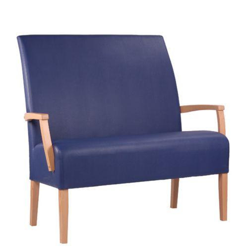 Dřevěná čalouněná lavice MARCUS DUO ALE