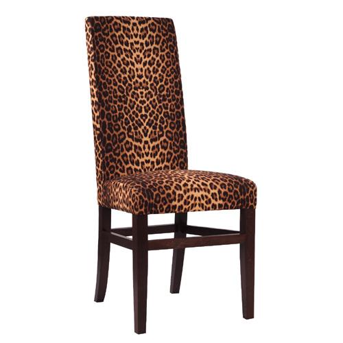 Dřevěná čalouněná židle ALBA Safari