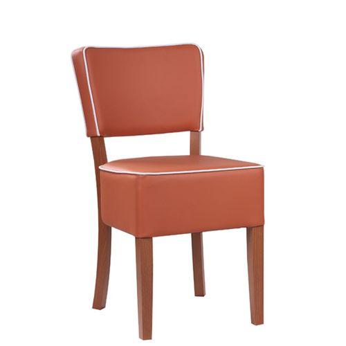 Dřevěná židle čalouněná TILO PSP