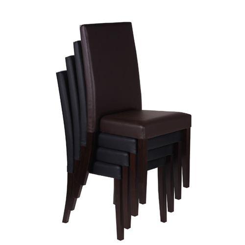 Dřevěné židle stohovatelné