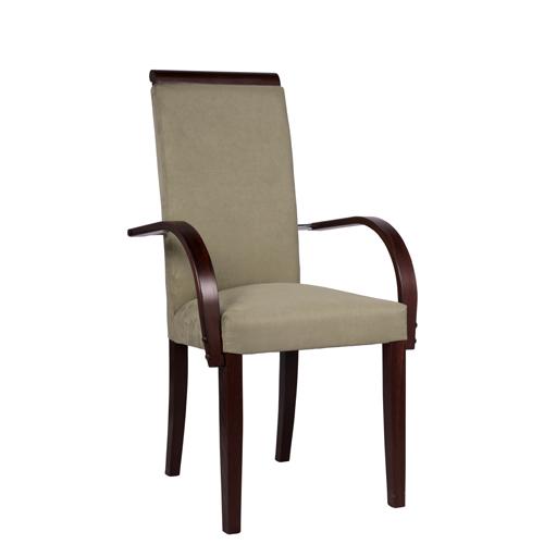 Celočalouněné židle do restaurace s područkama