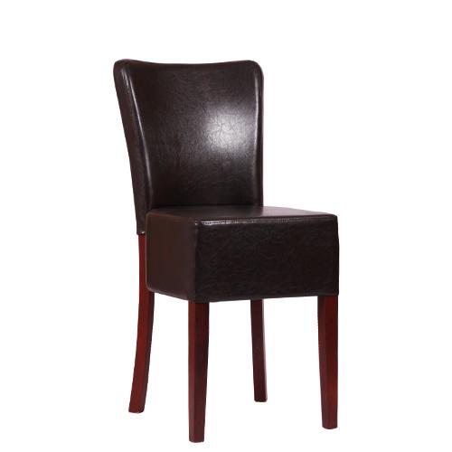 Dřevěné čalouněné židle MARCEL