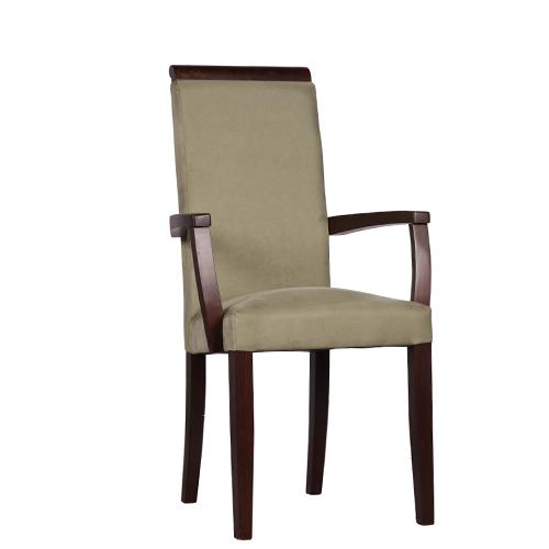 Dřevěné židle s područkou
