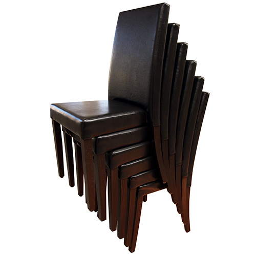 Dřevěné židle s možností čalounění