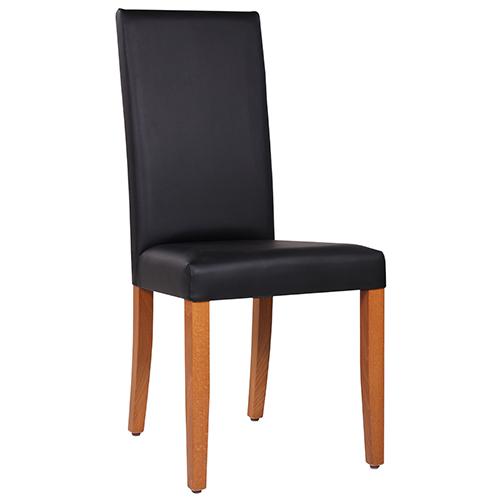 dřevěné židle celočalouněné