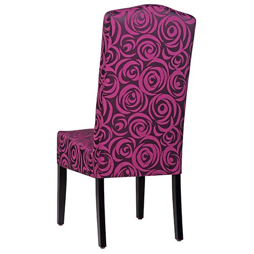 Pohodlné celočalouněné židle s velkým opěradlem