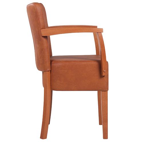 Dřevěné židle do kavárny