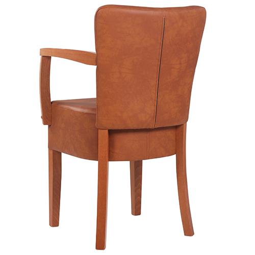 Čalouněné retro židle