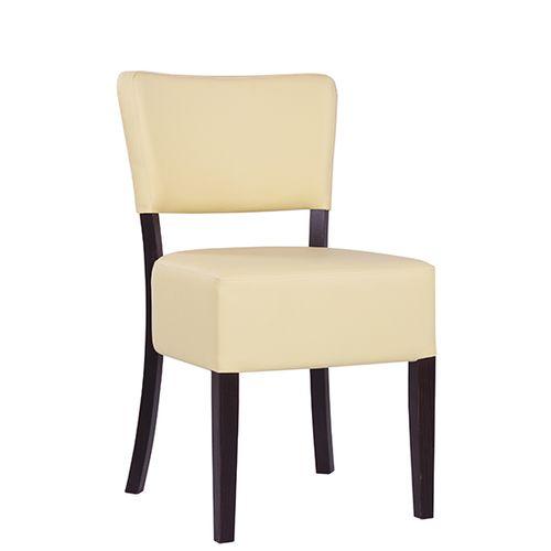 Dřevěné židle čalouněné TILO XL širší sedák
