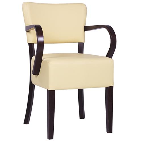 Židle do rastaurace široký sedák