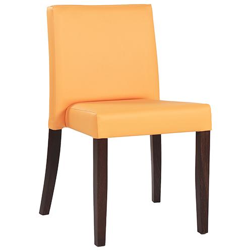 Čalouněné židle do restaurace s pohodlným opěradlem