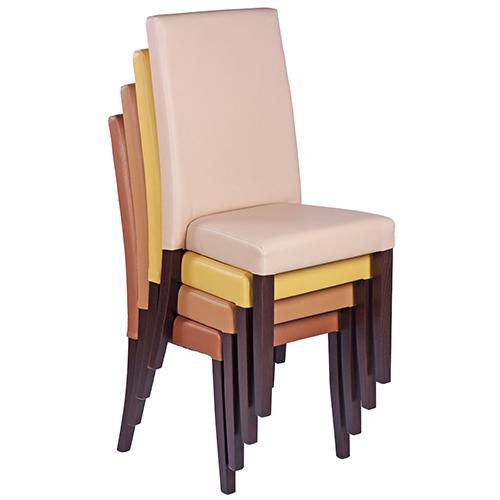 Stohování čalouněných židlí