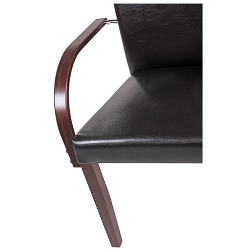 Židle do restaurace čalouněné s loketní oěprkou