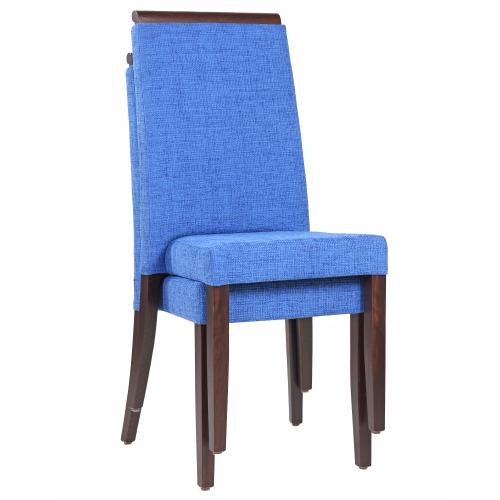 Čalúnené stoličky stohovanie