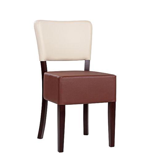 Dřevěná židle čalouněná TILO BC