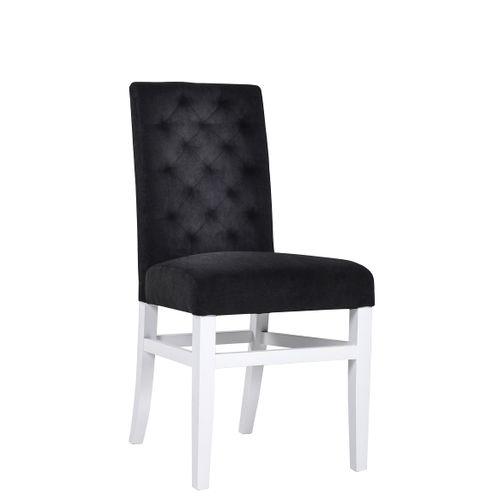 Čalouněné židle ALBA DSK s ozdobným prošíváním na opěrce