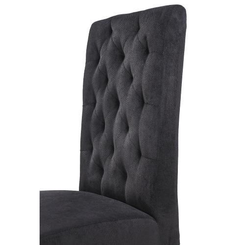 Ozdobné prošívání na židlích