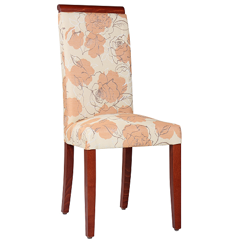 Dřevěné madlo čalouněné židle