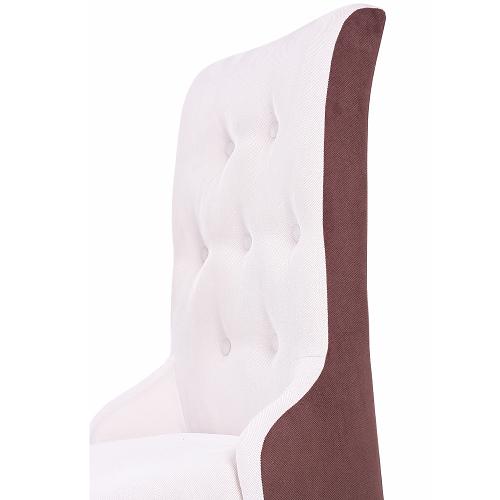 Čalouněné židle ozdobné štepování