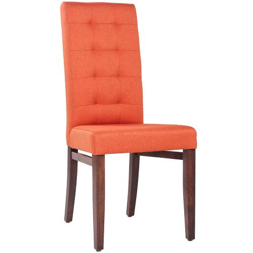 čalúnené stoličky s prešitím