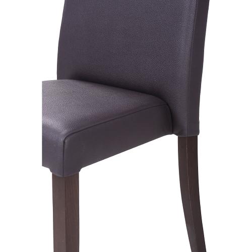 Čalouněná restaurační židle s možností stohován