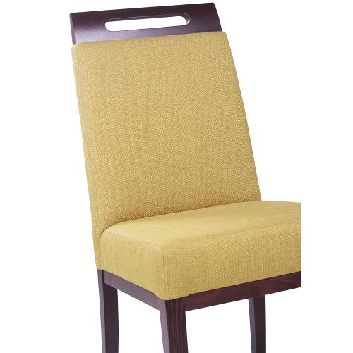 Drevené stoličky čalúnené pre reštaurácie