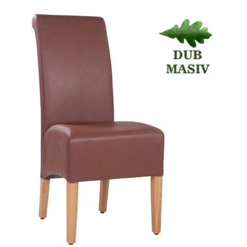 Resaturační židle MAURO masivní dub