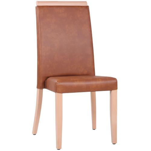 Čalouněné židle restaurační stohování