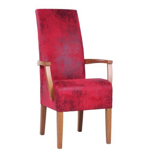 Dřevěná čalouněná židle MARCUS ALE