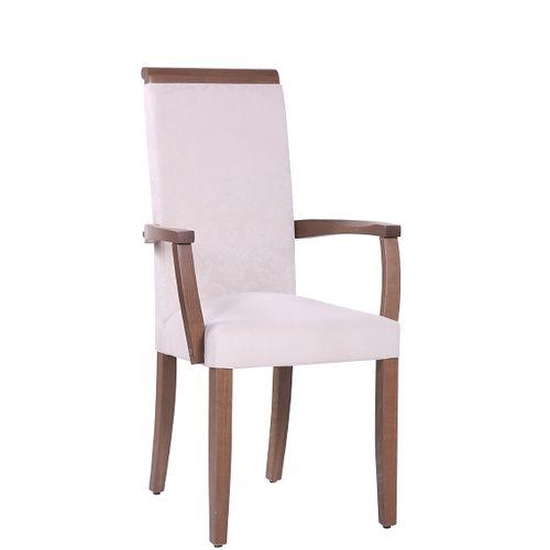 Dřevěná čalouněná židle LINDA ALE