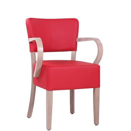 Dřevěné židle čalouněné TILO XL AL S širší sedák