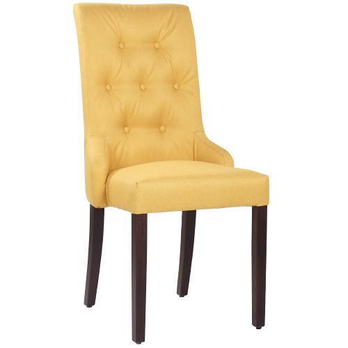 Celočalouněné židle s dekoračními knoflíky