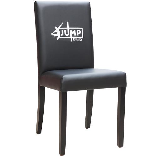 Restaurační čalouněné židle s logem